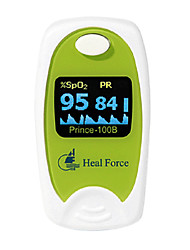 cheap -Heal Force  OLED Display Foldable AAA Battery Finger Pulse Oximeters Random Color