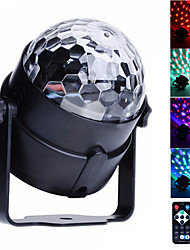 cheap -U'King LED Stage Light / Spot Light Sound-Activated Remote Control Music-Activated 6 for For Home Club Wedding Stage Party Outdoor