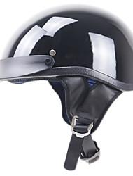 cheap -Half Helmet Adults Unisex Motorcycle Helmet  Fastness / Impact Resistant / Easy dressing