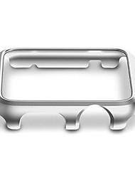 Недорогие -Кейс для Назначение Apple iWatch 38мм iWatch 42мм Apple Watch Series 3 / 2 / 1 пластик ПК Apple