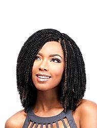 cheap -Braiding Hair Curly Tight Curl Crochet Hair Braids Synthetic Hair 60 roots / pack 1pack Hair Braids Short Soft New Arrival