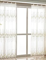 Недорогие -экологически чистые занавески, шторы, две панели / вышивка / для спальни