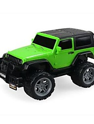 cheap -RC Car 4 Channel Car / Off Road Car 1:18 10 km/h
