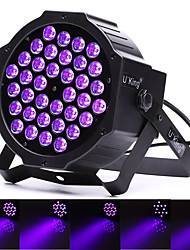 cheap -U'King Disco Lights Party Light LED Stage Light / Spot Light DMX 512 / Master-Slave / Sound-Activated 36 W Outdoor / Party / Club Professional Violet for Dance Party Wedding DJ Disco Show Lighting