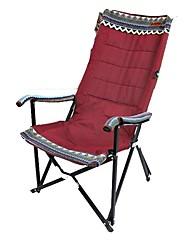 cheap -Fishing Chairs Beach Chair Camping Chair Portable Foldable Folding Steel Alloy for 1 person Fishing Beach Camping Autumn / Fall Spring Fuchsia