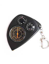 cheap -Compasses With Keychain Gold-Plated Directional ABS Camping / Hiking Camping / Hiking / Caving Trekking Black