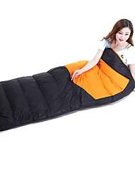 cheap -Shamocamel® Sleeping Bag Outdoor Camping Envelope / Rectangular Bag 5 °C Single Duck Down Windproof Warm Ultra Light (UL) Wear Resistance Autumn / Fall Winter for Camping / Hiking Camping / Hiking
