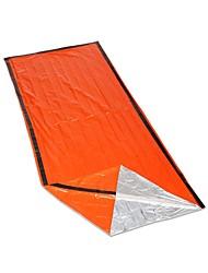 cheap -Emergency Blanket Sleeping Bag Emergency Sleeping Bag Outdoor Envelope / Rectangular Bag 26 °C Single Synthetic Thermal / Warm Radiation Protection Heat Retaining Heat-Insulated 213*91 cm All Seasons