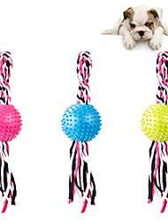 cheap -Dog Chew Toys Cat Chew Toys Ropes Dog Puppy Pet Toy Cute Relaxed Fit Cotton Gift