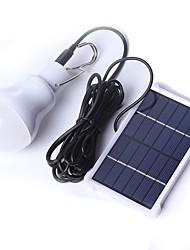 Недорогие -Походные светильники и лампы 100 lm Светодиодная лампа LED излучатели Автоматический Режим освещения с зарядным устройством Плотное облегание Солнечная энергия Походы / туризм / спелеология Белый