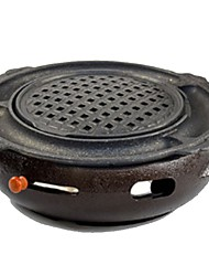cheap -Camping Stove Outdoor Cookware Case Included for 3 - 4 person Stainless Steel Outdoor Camping Black
