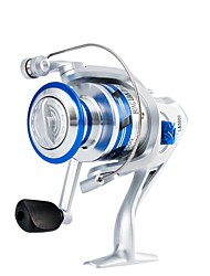 cheap -Fishing Reel Spinning Reel 5.21 Gear Ratio+10 Ball Bearings Hand Orientation Exchangable Sea Fishing / Bait Casting / Ice Fishing - LA1000, LA2000 / Freshwater Fishing / Carp Fishing / Bass Fishing
