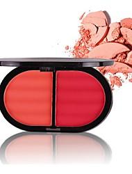 cheap -4 Colors Makeup Set Pressed powder Blush Dry / Combination / Oily Long Lasting Blush China Makeup Cosmetic