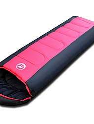 cheap -Sleeping Bag Outdoor Camping Envelope / Rectangular Bag 26 °C Single Hollow Cotton Windproof Quick Dry Thick 220*75 cm Autumn / Fall Winter for Camping / Hiking Camping / Hiking / Caving