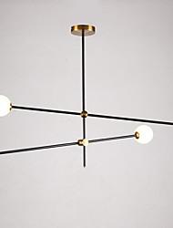 cheap -4-Light 100 cm Pendant Light Metal Glass Sputnik Modern Contemporary 110-120V / 220-240V