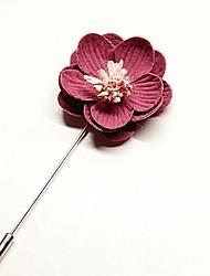 cheap -Men's Women's Brooches Flower Korean Brooch Jewelry Light Pink Light Green Lavender For Wedding Daily