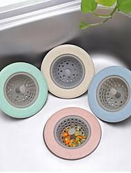 Недорогие -силиконовая кухонная раковина ситечко tpr ванная комната душ сливная крышка дуршлаг