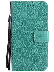 cheap -Case For Nokia Lumia 630 / Nokia Lumia 635 / Nokia Lumia 650 Nokia 6 / Nokia 5 / Nokia 3 Wallet / Card Holder / with Stand Full Body Cases Solid Colored Hard PU Leather