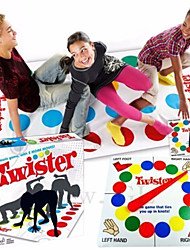 cheap -1 pcs Board Game Twister Game Stress and Anxiety Relief Relieves ADD, ADHD, Anxiety, Autism Parent-Child Interaction Kid's Adults' Toys Gifts