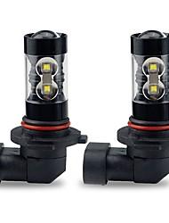 Недорогие -2pcs Лампы 50W Высокомощный LED 10 Налобный фонарь For Toyota Corolla 2016 / 2015 / 2014