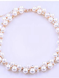 cheap -Women's Bead Bracelet Ball Ladies Classic Fashion Imitation Pearl Bracelet Jewelry Gold For Daily / Imitation Diamond