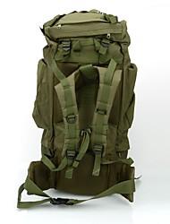 cheap -80 L Hiking Backpack Rucksack Comfortable Outdoor Camping / Hiking Hiking Outdoor Exercise Waterproof Fabric