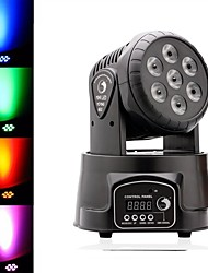 cheap -U'King Disco Lights Party Light LED Stage Light / Spot Light DMX 512 / Master-Slave / Sound-Activated 70 W Outdoor / Party / Stage Professional Red Green for Dance Party Wedding DJ Disco Show Lighting