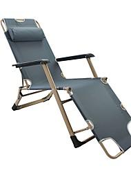cheap -Beach Chair Camping Chair Foldable Folding Oxford cloth Aluminium alloy for 1 person Beach Camping Autumn / Fall Spring Dark Blue