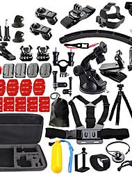 Недорогие -Экшн камера / Спортивная камера Набор На открытом воздухе С компактным кабелем Всё в одном 1 pcs Для Экшн камера Gopro 6 Все Gopro 5 Xiaomi Camera Gopro 4 / SJCAM / SJ4000 / SJCAM SJ7000 / Gopro 3