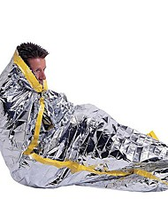 cheap -Emergency Blanket Emergency Sleeping Bag Outdoor Envelope / Rectangular Bag 26 °C Single Synthetic Portable Thermal / Warm Warm Ultraviolet Resistant Heat Retaining Heat-Insulated All Seasons for