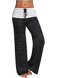 cheap -Women's Running Pants Track Pants Sports Pants Sports Pants / Trousers Bottoms Yoga Pilates Gym Workout Breathability Soft Comfortable Striped Black Brown Light Green Green Blue Grey / Stretchy