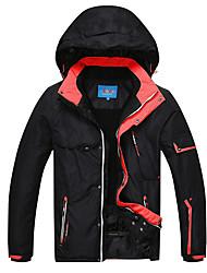 abordables -Phibee Homme Veste de Ski Ski Etanche Coupe Vent Chaud Polyester Veste Tenue de Ski / Hiver