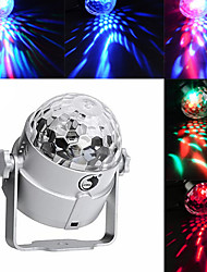 cheap -U'King Disco Lights Party Light LED Stage Light / Spot Light Sound-Activated / Music-Activated 8 W For Home / Outdoor / Party Portable RGB Purple for Dance Party Wedding DJ Disco Show Lighting