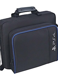 cheap -For PS4 / PS4 Pro Slim Game Sytem Bag Original size For PlayStation 4 Console Protect Shoulder Carry Bag Handbag Canvas Case