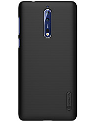 cheap -Case For Nokia Nokia 8 / Nokia 5 / Nokia 3 Frosted Back Cover Solid Colored Hard PC
