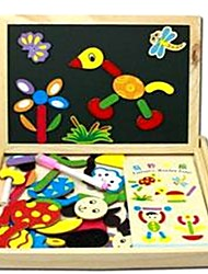 cheap -Drawing Toy / Drawing Tablet / Wooden Puzzle Fashion / Famous / School / Graduation School / New Design / Magnetic Wooden / Min-Stripes