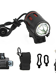 cheap -ANOWL LS8861-2 LED Light 1100 lm LED LED 1 Emitters 3 Mode with Battery and Charger Easy Carrying Camping / Hiking / Caving Everyday Use Diving / Boating Black / Red