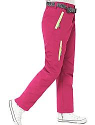 cheap -Ski / Snow Pants Camping / Hiking Ski / Snowboard Outdoor Exercise Waterproof Windproof Warm Polyster Bib Pants Ski Wear / Winter / Kid's