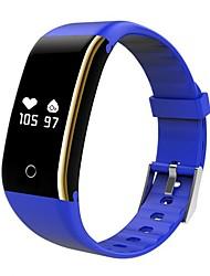 abordables -V8I Unisexe Bracelet à puce Android iOS Bluetooth Calories brulées Bluetooth Capteur tactile Enregistrement de l'activité Pédomètres Traqueur de pouls Podomètre Rappel d'Appel Moniteur d'Activit