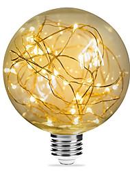abordables -1pc 3 W Ampoules à Filament LED 200 lm E26 / E27 G95 33 Perles LED SMD Décorative Étoilé Décoration de mariage de Noël Blanc Chaud 85-265 V / RoHs