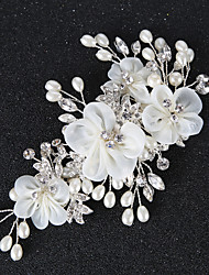 cheap -Imitation Pearl / Rhinestone / Alloy Hair Clip / Hair Stick with Rhinestone / Imitation Pearl / Floral 1pc Wedding Headpiece