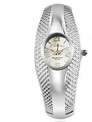 Недорогие -Жен. Наручные часы Китайский Повседневные часы сплав Группа На каждый день / Мода / Элегантный стиль Серебристый металл