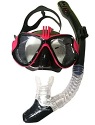 cheap -Snorkeling Set Diving Package - Diving Mask Snorkel - Anti Fog Valentine Dry Top Swimming Diving PC (Polycarbonate) Silicon  For  Adults