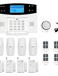 cheap -LCD Wirless GSM/PSTN Home House Office Security Burglar Intruder Alarm System