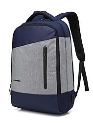 """Недорогие -Coolbell 15 """"Ноутбук Рюкзаки Нейлон Однотонный для делового офиса для колледжей и школ для путешествия Водостойкий Противоударное покрытие с USB-портом для зарядки / наушниками"""