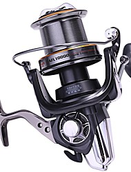 cheap -Fishing Reel Spinning Reel / Conventional / Trolling Reel 4.7:1 Gear Ratio 10+1 Ball Bearings for Sea Fishing / Bait Casting / Ice Fishing