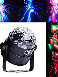 cheap -U'King Disco Lights Party Light LED Stage Light / Spot Light Sound-Activated / Music-Activated 6 W For Home / Club Portable RGB for Dance Party Wedding DJ Disco Show Lighting