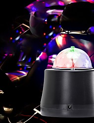 cheap -U'King Disco Lights Party Light LED Stage Light / Spot Light Auto 3 W Party / Wedding / Dance Portable / Professional Red Blue Green for Dance Party Wedding DJ Disco Show Lighting