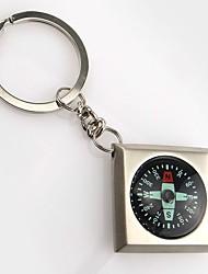 cheap -Compasses Outdoor Compass Metalic Camping / Hiking Outdoor Exercise Camping / Hiking / Caving Traveling Trekking Silver