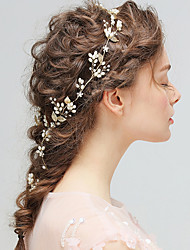 cheap -Alloy Headbands with Ribbon Bow / Floral 1pc Wedding / Party / Evening Headpiece